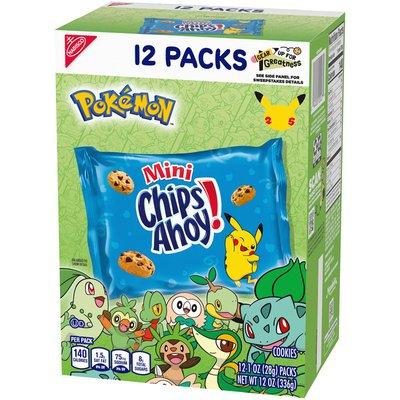 Chips Ahoy! Pokémon Mini Chocolate Chip Cookies