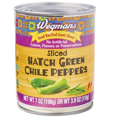 Wegmans Sliced Hatch Green Chile Peppers