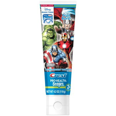 Crest Pro Health Stages Crest PH Stages Kids Toothpaste - Avengers  4.2 Oz  Dentifrice