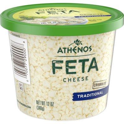 Athenos Traditional Crumbled Feta Cheese