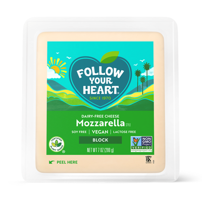Follow Your Heart Dairy-Free Mozzarella Blocks
