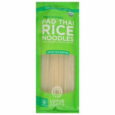 Lotus Foods Rice Noodles, Pad Thai, Traditional