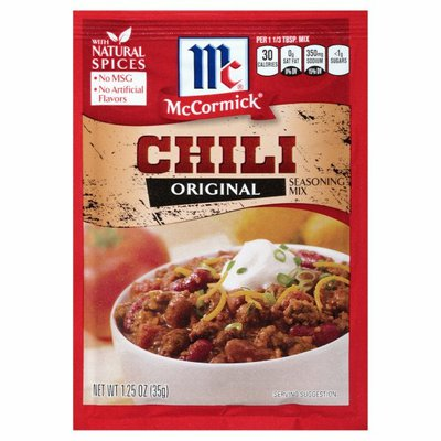 McCormick® Chili Seasoning Mix