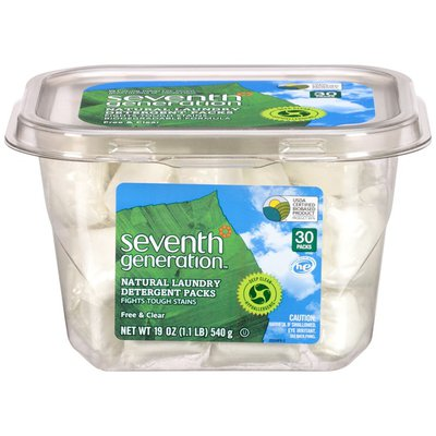 Seventh Generation Natural Free & Clear Laundry Detergent Packs