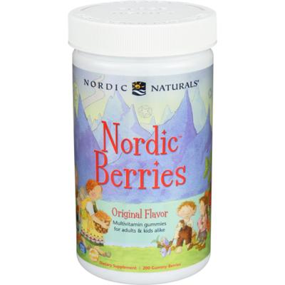 Nordic Naturals Multivitamin, Nordic Berries, Gummy Berries