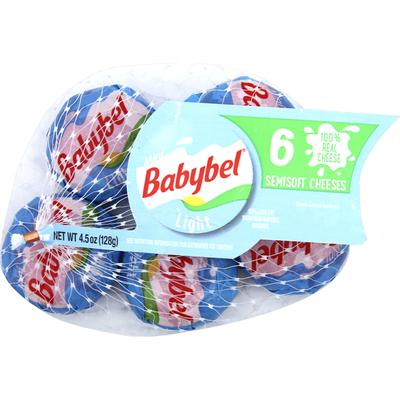 Babybel Light Semisoft Cheese