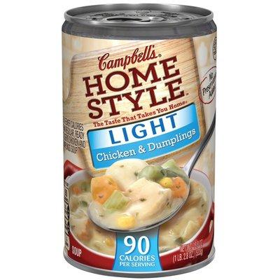 Campbell's® Light Chicken & Dumplings Soup