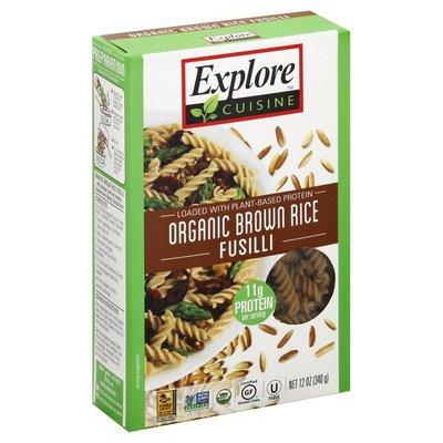 Explore Cuisine Organic Brown Rice Fusilli Pasta