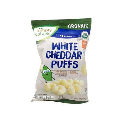 Simply Nature Organic White Cheddar Puffs