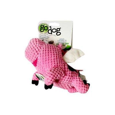 Godog Small Pink Flying Pig Dog Toy