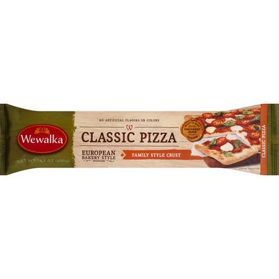 Wewalka Dough, Classic Pizza, Family Style Crust