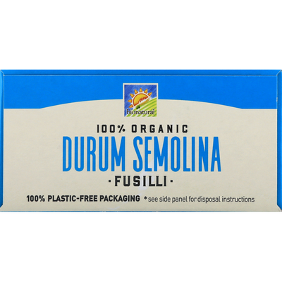 bionaturae Fusilli, Durum Semolina