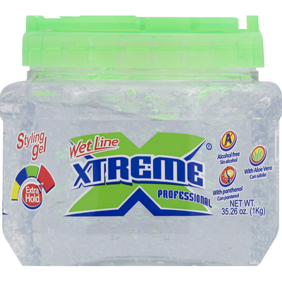 Wet Line Styling Gel, Extra Hold, Clear