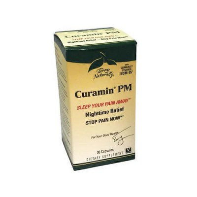 Terry Naturally Curamin Pm Nighttime Pain Sleep Your Pain Away Dietary Supplement Capsules