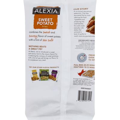 Alexia Fries, Sweet Potato