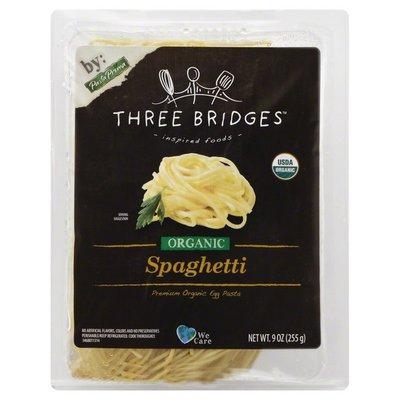 Three Bridges Spaghetti, Organic, Tray