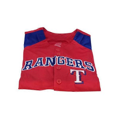 MLB Texas Rangers Boys Jersey Top