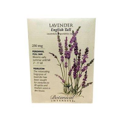Botanical Intereasts English Lavender Seeds