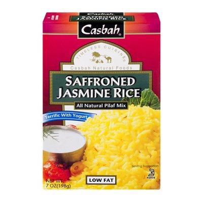 Casbah Saffroned Jasmine Rice All Natural Pilaf Mix