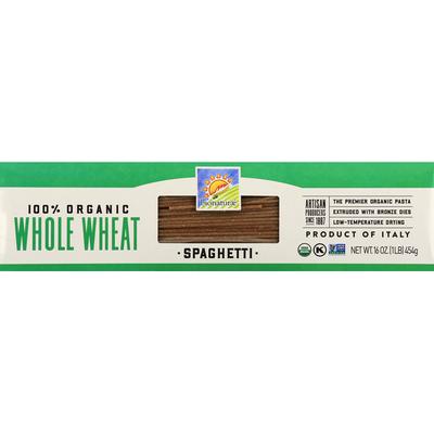 bionaturae Spaghetti, 100% Organic, Whole Wheat