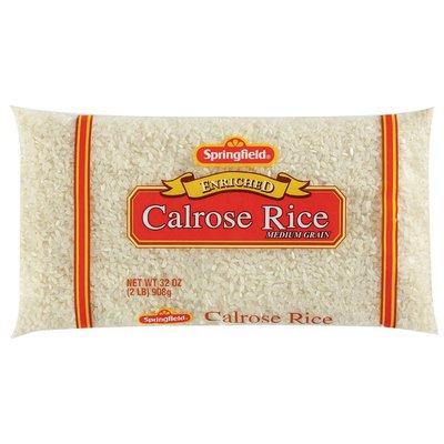 Springfield Enriched Calrose Medium Grain Rice