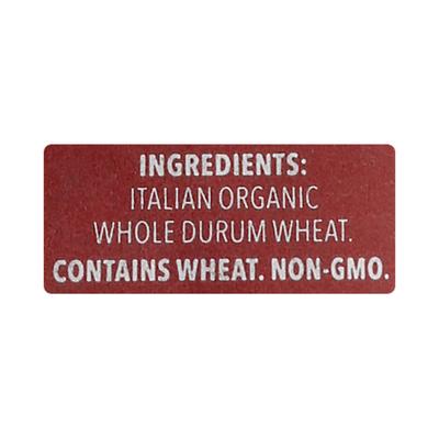 dellalo Pasta, Organic, Elbows, Whole Wheat