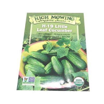 High Mowing Organic Seeds O.Little Leaf Cucumber Seeds