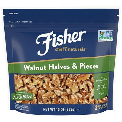 Fisher Walnuts Halves & Pieces