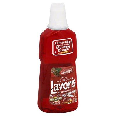 Lavoris Mouthwash, Original Cinnamon Flavor