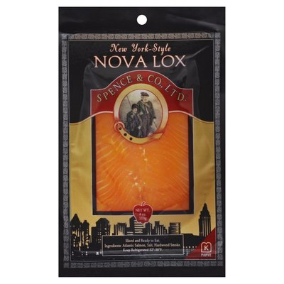 Spence & Co., Ltd. Nova Lox, New York-Style