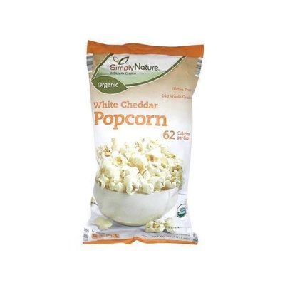 Simply Nature Organic White Cheddar Popcorn