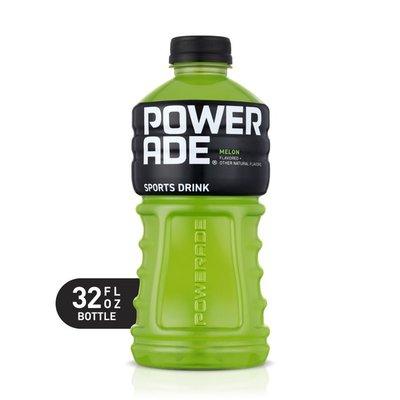 Powerade Melon, Ion4 Electrolyte Enhanced Fruit Flavored Sports Drink W/ Vitamins B3, B6, And B12, Replenish Sodium, Calcium, Potassium, Magnesium