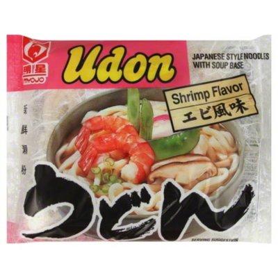 Myojo Japanese Style Noodles, with Soup Base, Shrimp Flavor