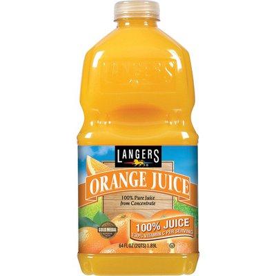 Langers 100% Juice, Orange