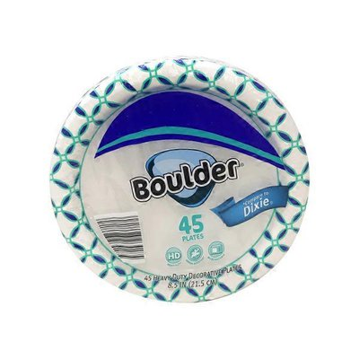 """Boulder 8.5"""" Decorated Paper Plate"""
