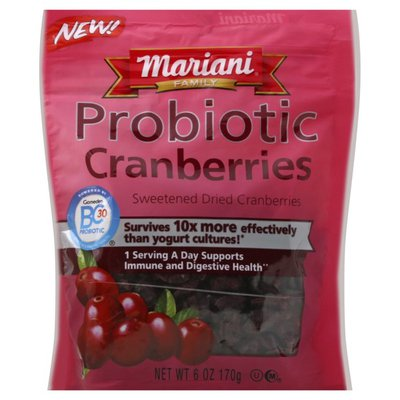 Mariani Probiotic Cranberries
