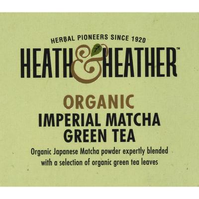Heath & Heather Green Tea Imperial Matcha