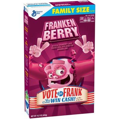 Franken Berry Cereal