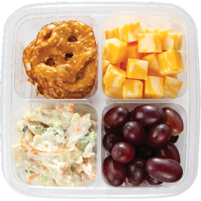 Chicken Salad & Colby Cheese Snack Box