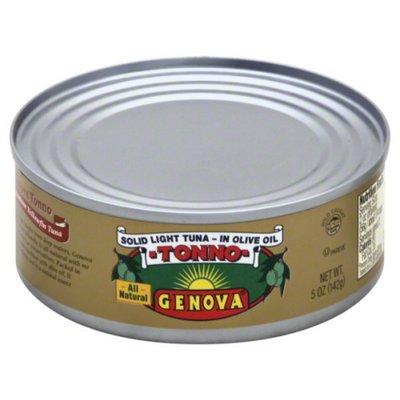 Genova Yellowfin Tuna in Olive Oil