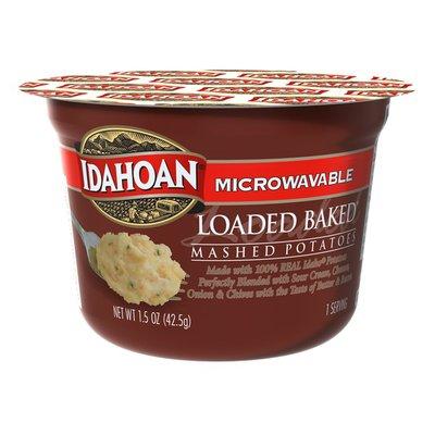 Idahoan Loaded Baked Mashed Potatoes Cup