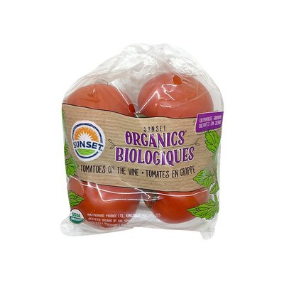 Sunset Organics Biologiques Tomatoes