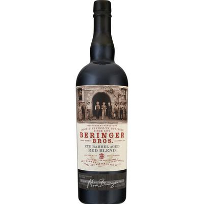 Beringer Red Blend, Rye Barrel Aged