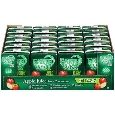 Earth Wise Aseptic Apple 100% Juice