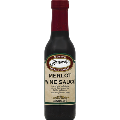 Braswell's Wine Sauce, Merlot