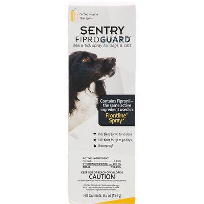 Sentry Pro Fiproguard Flea & Tick Spray for Dogs & Cats