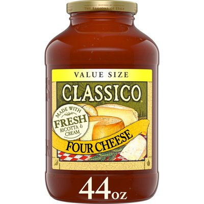 Classico Four Cheese Pasta Sauce Value Size