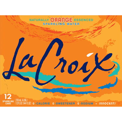 LaCroix Orange Sparkling Water