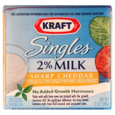 Kraft Cheese Product, Reduced Fat,  Sharp Cheddar