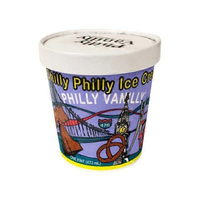 Chilly Philly Vanilla Ice Cream